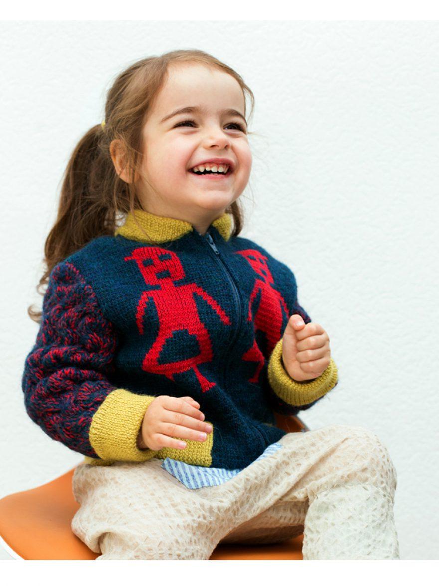 Knit Bomber Jacket Little Men